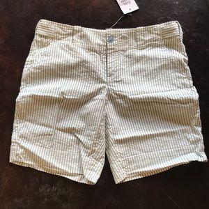 London Jean Seersucker Shorts